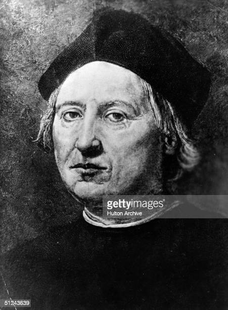 Circa 1500 Italian explorer Christopher Columbus