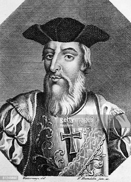 Circa 1500 Portuguese sailor and explorer Vasco da Gama