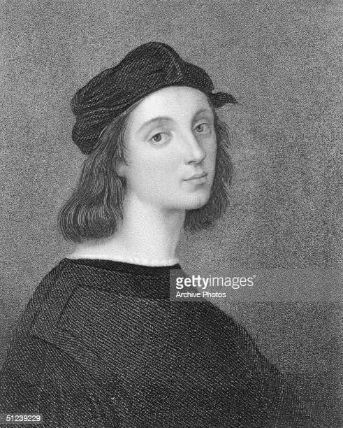 Circa 1500 Raffaello Sanzio better known as Raphael an Italian Renaissance painter A pupil of Perugino c14951504 employed chiefly by Popes Julius II...
