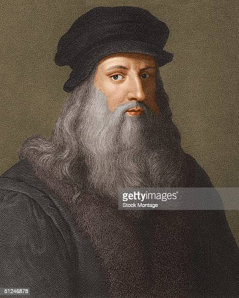 Circa 1510 Italian artist architect engineer and scientist Leonardo da Vinci