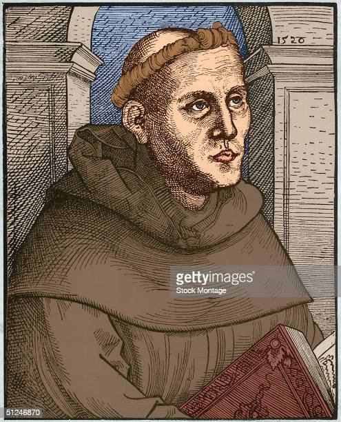 Circa 1520 German religious reformer Martin Luther founder of the Reformation and of Protestantism