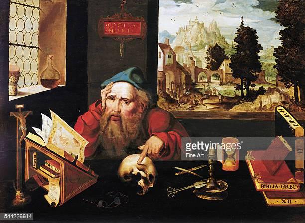 Circa 15201525 Oil on panel 767 x 1054 cm Museum Kunst Palast Dusseldorf Germany