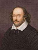Circa 1600 English playwright and poet William Shakespeare