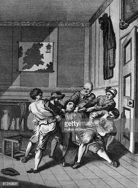 Circa 1620 The Catholic reprisals after the protestant uprising in Bohemia were merciless and bloody A gentleman from Bohemia is murdered in his own...