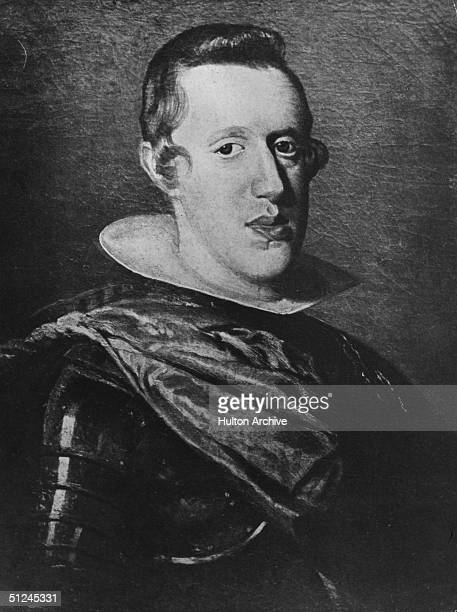 Circa 1635 Philip IV king of Spain from 1621 He was a patron of the arts particularly of Velasquez Original Artwork Painting by Diego Velasquez