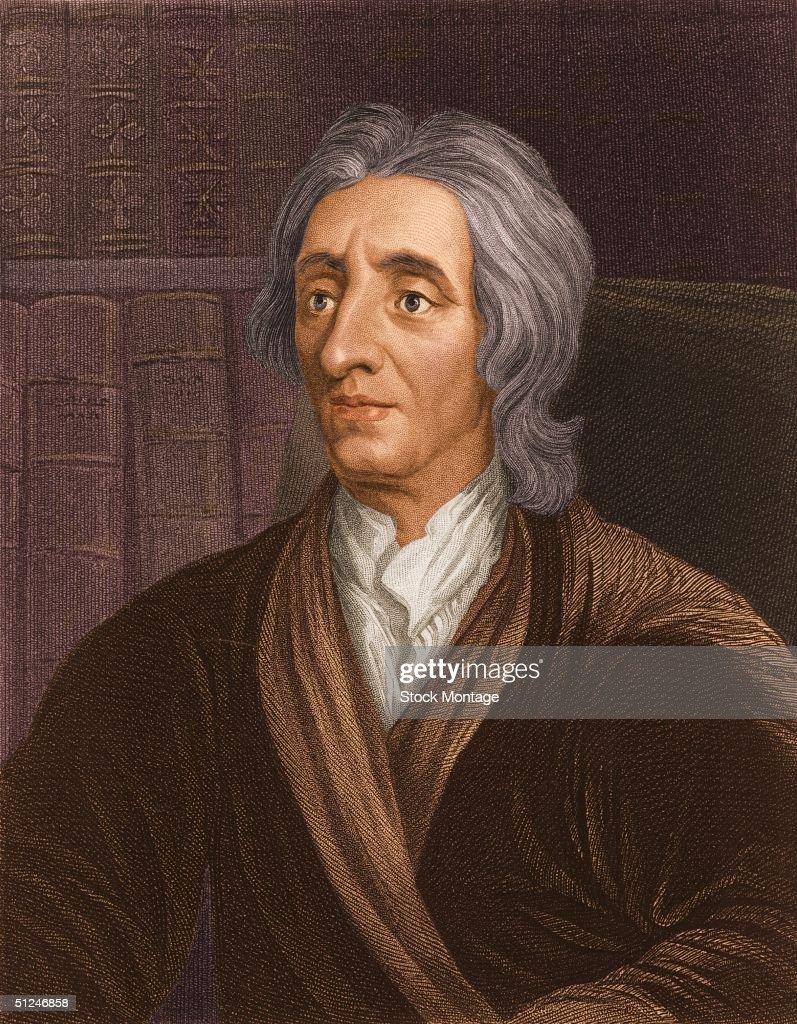 Circa 1680 English philosopher John Locke known as the father of English Empiricism
