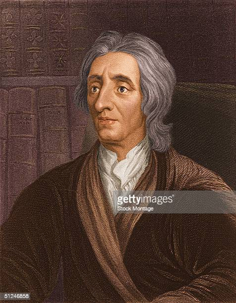 Circa 1680 English philosopher John Locke known as the father of English Empiricism