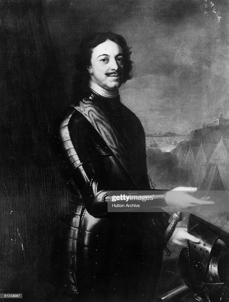 Circa 1710, Peter the Great (1672 - 1725), Tsar of Russia.