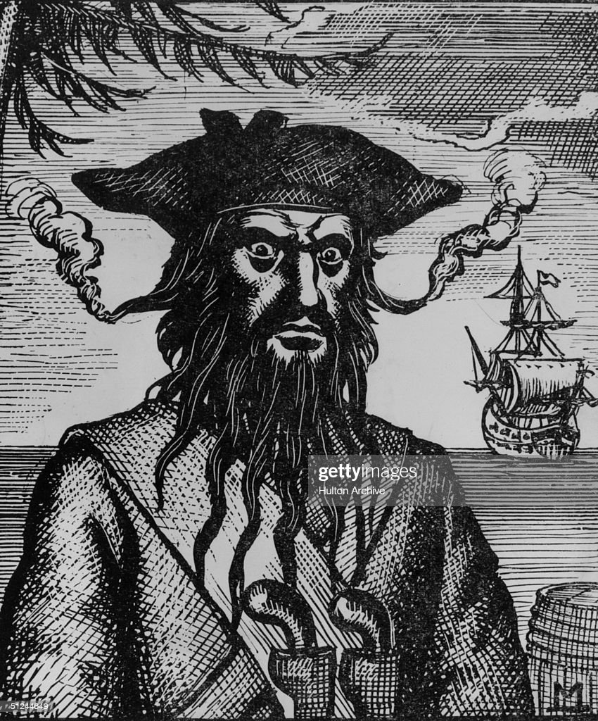 blackbeard the pirate stock photos and pictures getty images