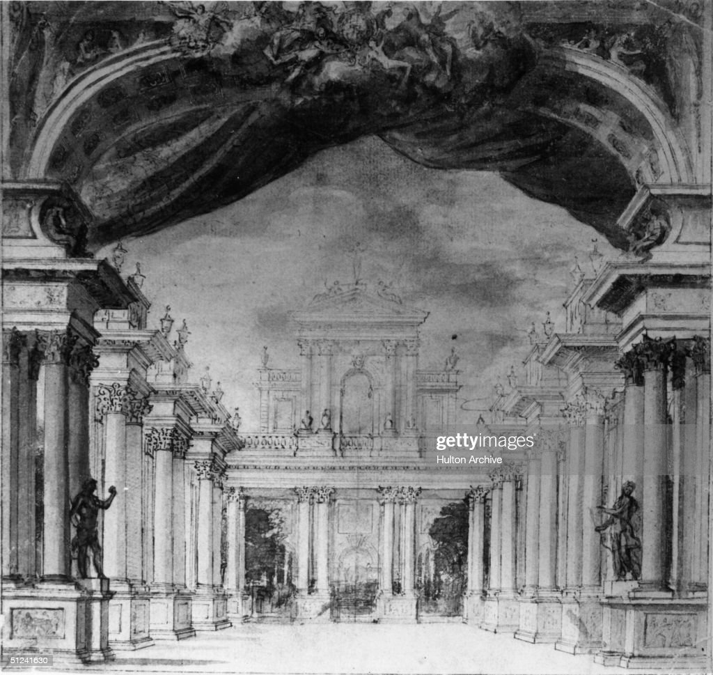 Circa 1750, The interior of the King's Theatre in Haymarket, London, which once occupied the site where His Majesty's Theatre stands today.