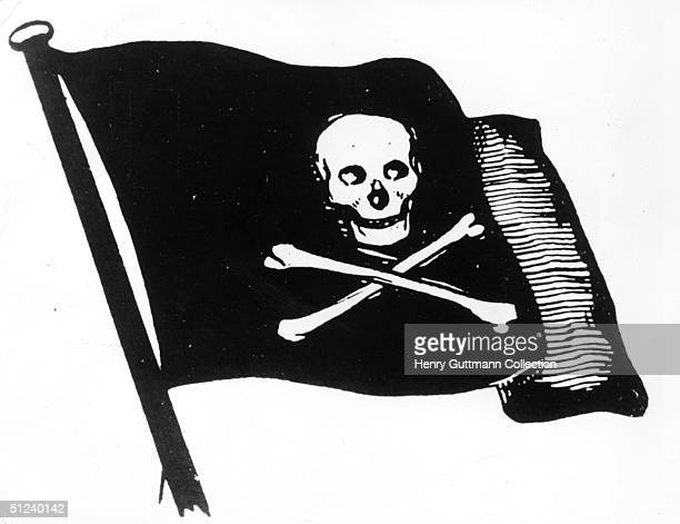 Circa 1750 The skull and crossbones