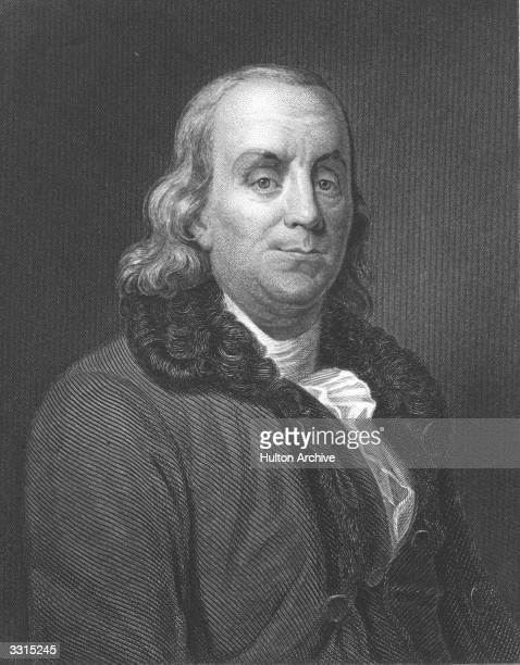 American statesman writer and scientist Benjamin Franklin