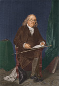 American statesman scientist and philosopher Benjamin Franklin