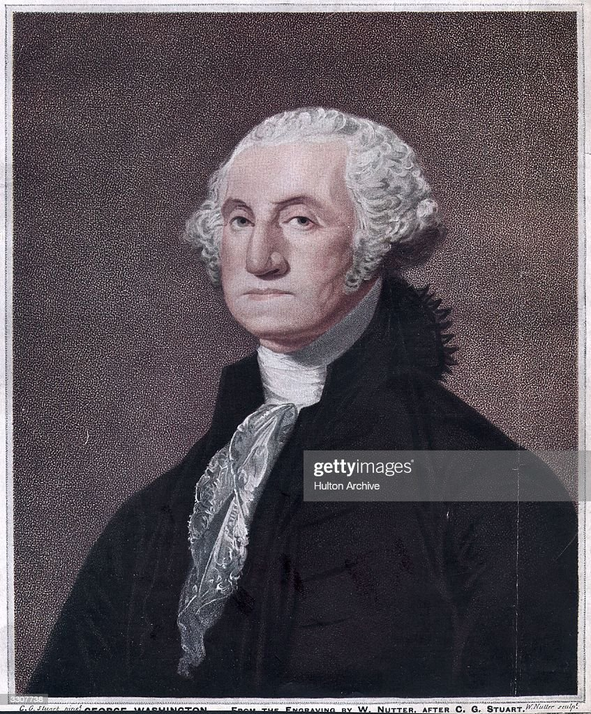 <a gi-track='captionPersonalityLinkClicked' href=/galleries/search?phrase=George+Washington&family=editorial&specificpeople=67214 ng-click='$event.stopPropagation()'>George Washington</a>, the 1st President of the United States of America. Original Publication: From the engraving by W Nutter, after CG Stuart.