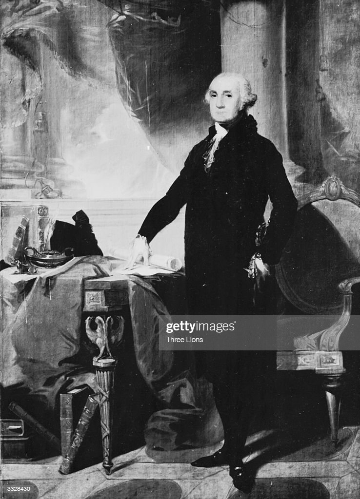 George Washington (1732-1799), the 1st President of the United States of America.