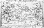 Chart of the world on Mercator's Projection with the most recent discoveries