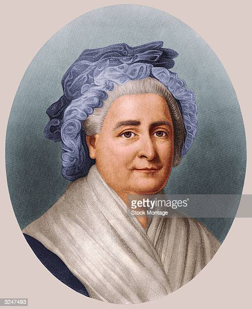 First Lady Martha Washington wife of American president George Washington