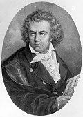 German composer Ludwig van Beethoven