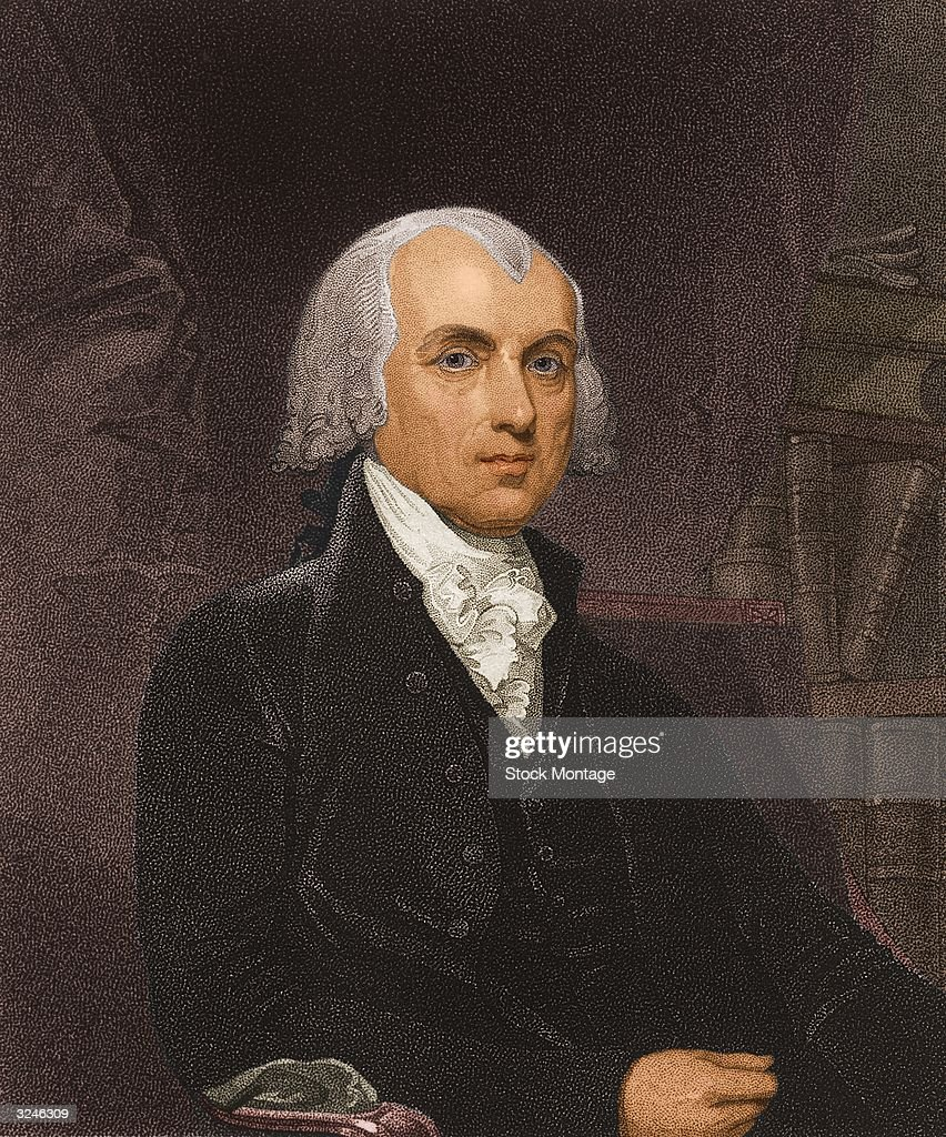 James Madison fourth president of the United States of America