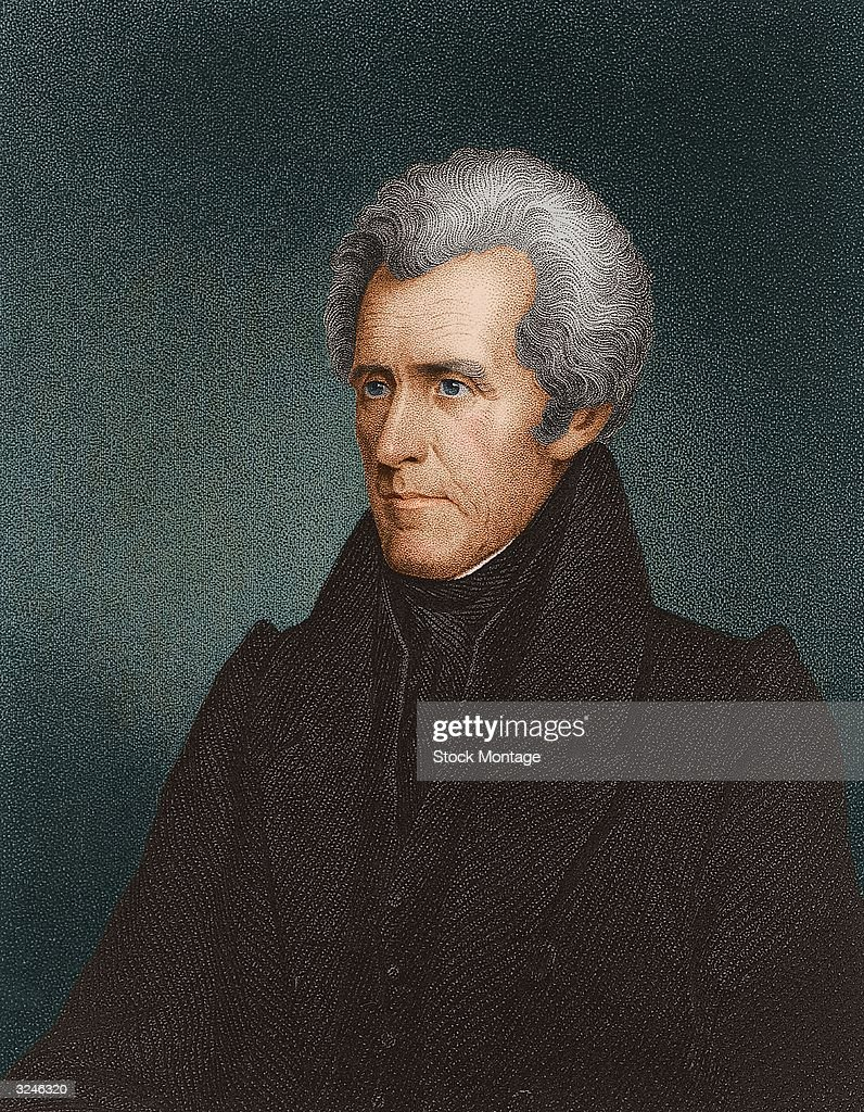 <a gi-track='captionPersonalityLinkClicked' href=/galleries/search?phrase=Andrew+Jackson+-+US+President&family=editorial&specificpeople=99326 ng-click='$event.stopPropagation()'>Andrew Jackson</a> (1767 - 1845), seventh president of the United States of America.