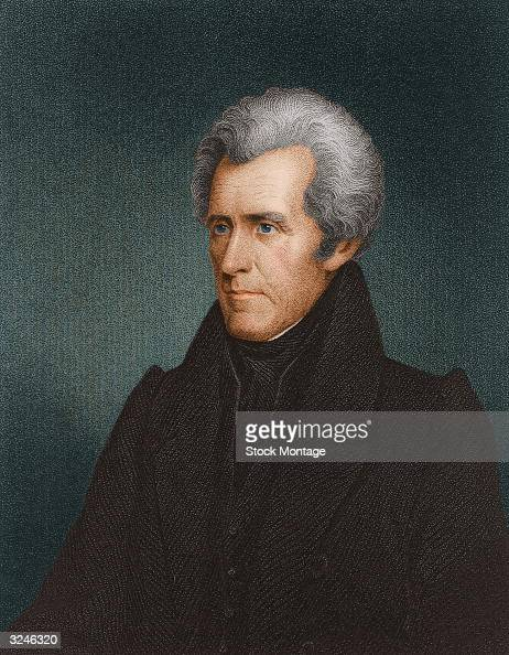 Andrew Jackson seventh president of the United States of America