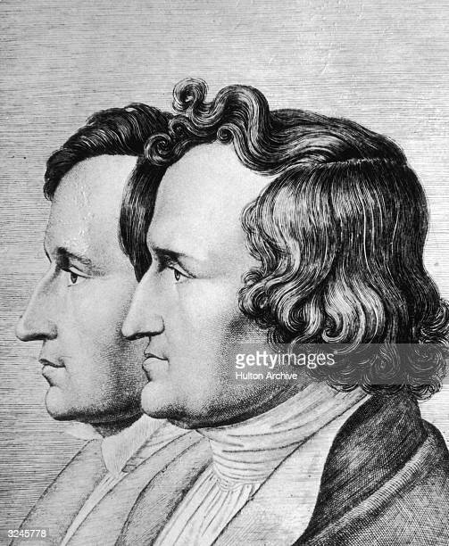 The Brothers Grimm Jakob and Wilhelm German folklorists influenced as students by Herder and Clemens Brentano Jakob was librarian to Jerome Bonaparte...