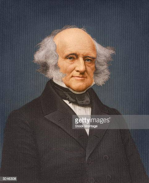 Martin Van Buren eighth president of the United States of America
