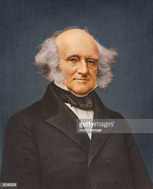 Martin Van Buren eighth president of the United States of America