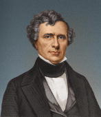 Franklin Pierce fourteenth president of the United States of America