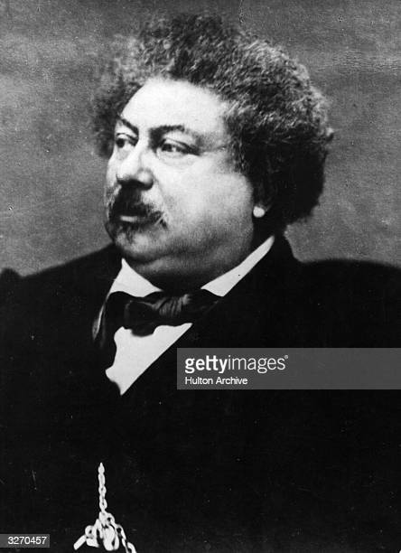 French writer and playwright Alexandre Dumas known as Dumas pere