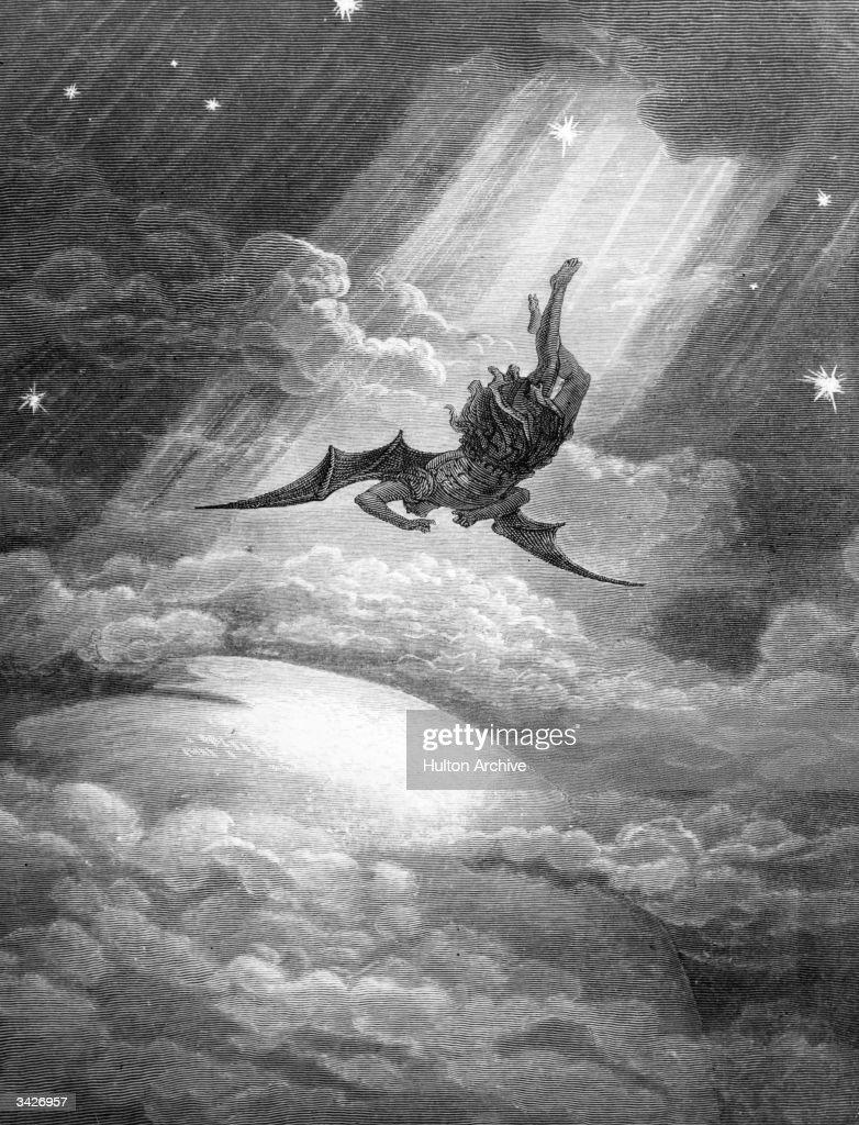 Billedresultat for fallen angel etching