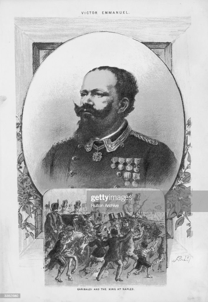 Victor Emmanuel II (1820 - 1878), the King of Italy from 1861 to 1878.