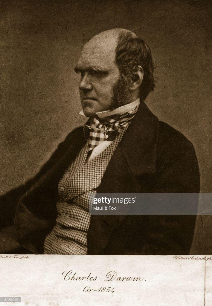 British naturalist Charles Darwin