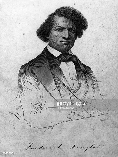 American abolitionist writer and former slave Frederick Douglass originally Frederick Augustus Washington Bailey