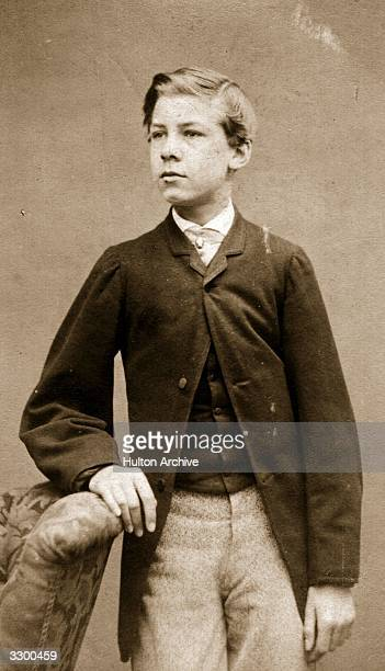 Wilhelm Ludwig Friedrich George Prince of Hesse third son of Prince Karl Wilhelm of Hesse seen as a child