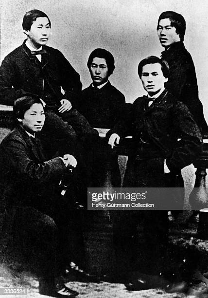 Five young Japanese men have arrived in London with the aim of learning from English and western culture Amongst them are Prince Ito Hirobumi who...