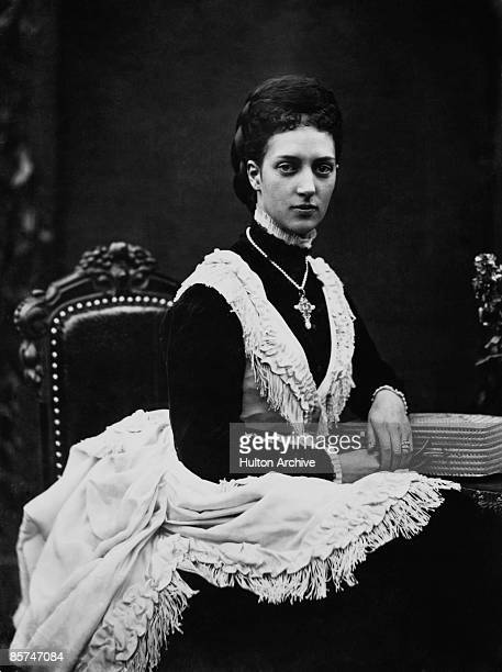 Princess Alexandra of Denmark wife of Edward Prince of Wales from 1863
