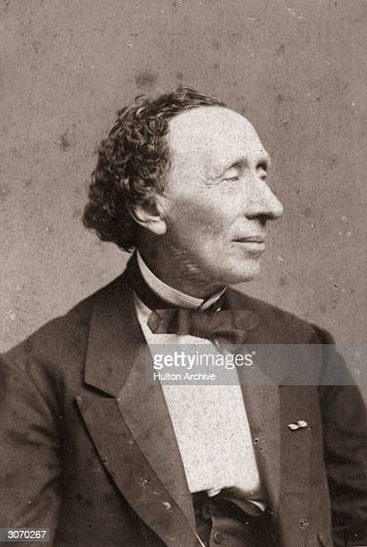 Danish writer Hans Christian Andersen author of such famous children's stories as 'The Little Mermaid' 'The Ugly Duckling' and 'The Red Shoes'...