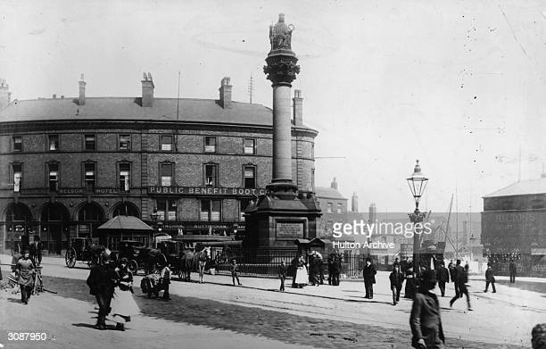 Monument to the fallen in the Crimean War Sheffield