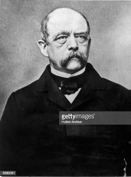 PrussoGerman Statesman Otto Edward Leopold von BismarckSchonhausen The Iron Chancellor