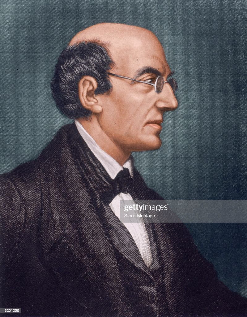 William Lloyd Garrison American abolitionist printer and journalist published 'The Liberator' at Boston Massachusetts 183165 advocating abolition of...