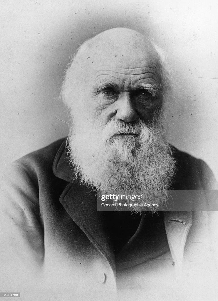 British naturalist and writer of 'The Theory of Evolution' Charles Robert Darwin