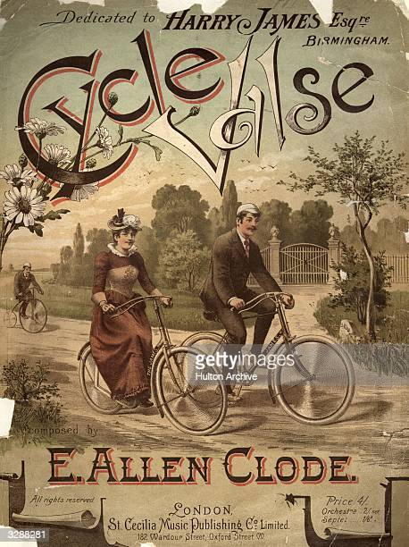 A music sheet for the 'Cycle Valse' a waltz composed by E Allen Clode