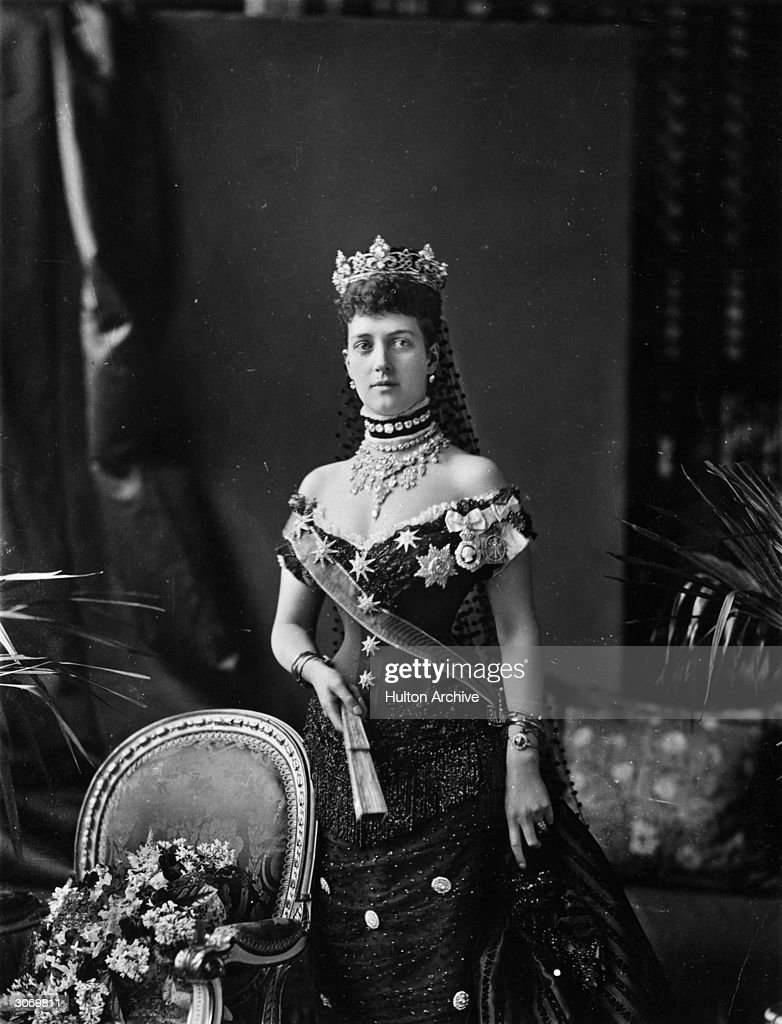 Alexandra (1844 - 1925), Princess of Wales, the wife of the future King Edward VII.