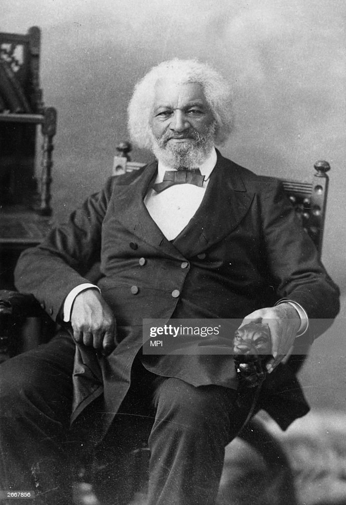 American orator, abolitionist, writer and escaped slave, <a gi-track='captionPersonalityLinkClicked' href=/galleries/search?phrase=Frederick+Douglass&family=editorial&specificpeople=95956 ng-click='$event.stopPropagation()'>Frederick Douglass</a> (1817 - 1895).