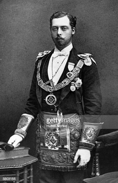 Prince Leopold Duke of Albany youngest son of Queen Victoria Grand Master of Oxon