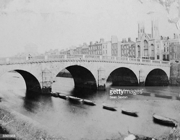 The Capel Street Bridge over the River Liffey in Dublin