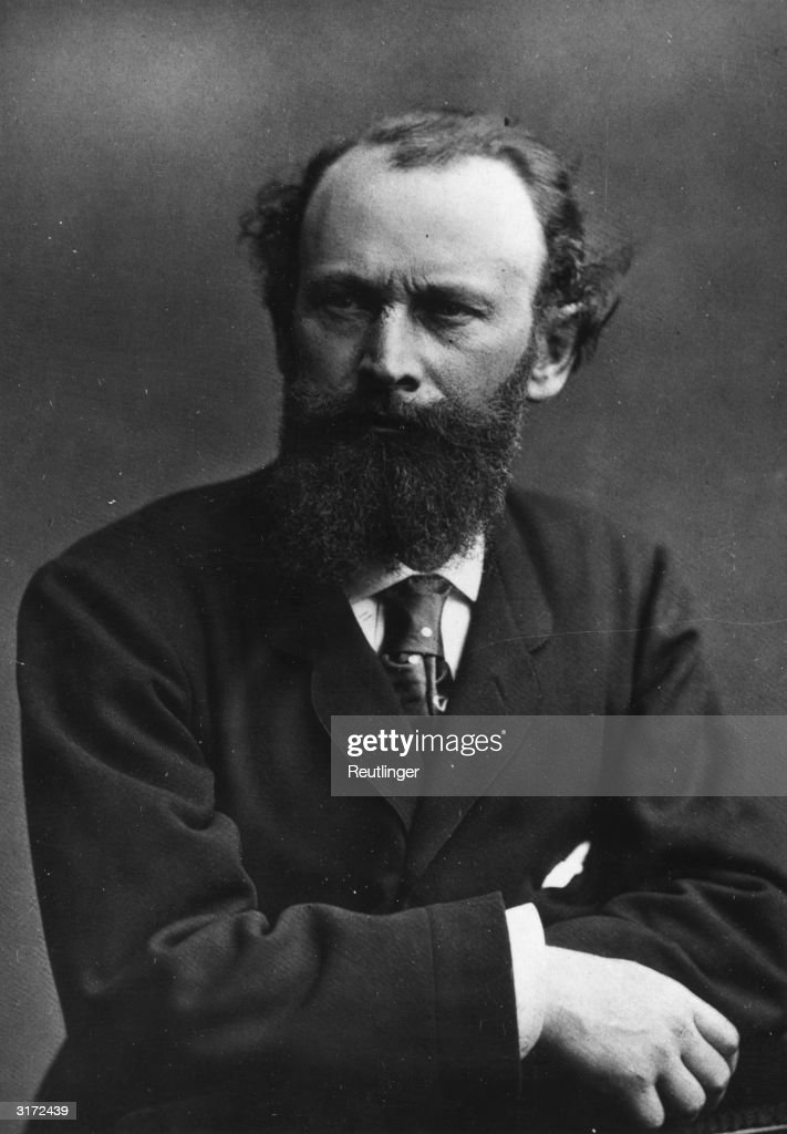 A studio portrait of French painter Edouard Manet (1832 - 1883).