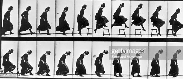 A series of pictures taken by photographer Eadweard Muybridge as a study of movement He used twentyfour cameras to capture a single sequence of...