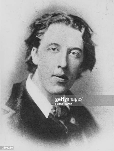 Irish playwright poet and novelist Oscar Wilde